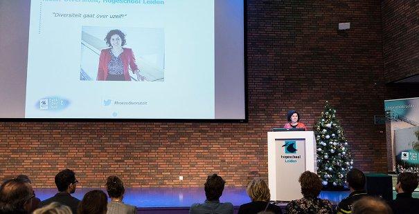 Keynote door Saniye Çelik, lector Diversiteit, Hogeschool Leiden