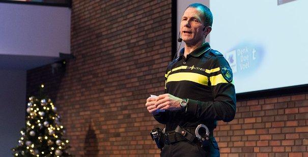 Keynote door Peter Slort, portefeuillehouder diversiteit Nationale Politie
